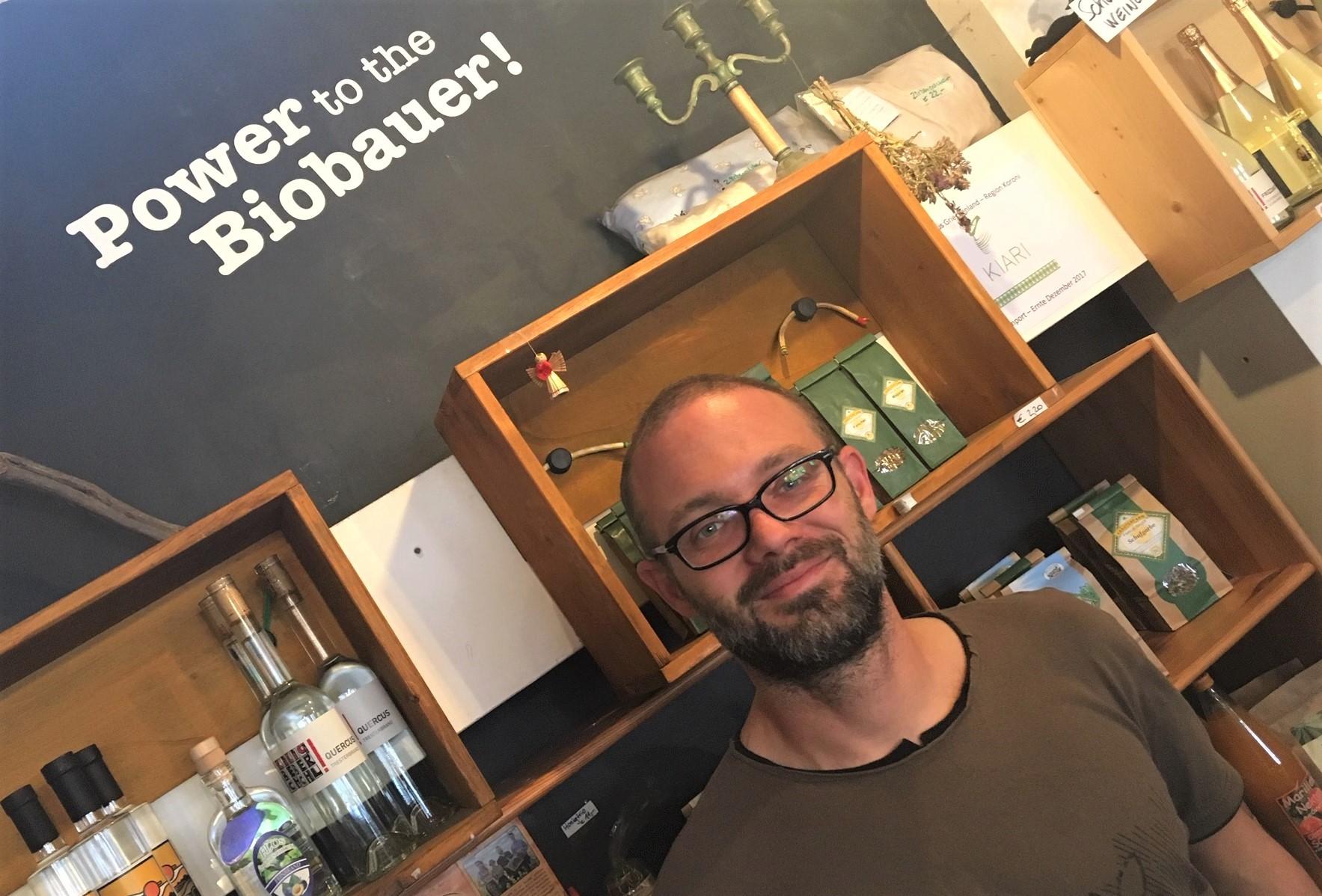 Vom Gelegenheitsjobber zum Biogreißler: Dietmar
